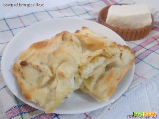 Focaccia col formaggio di Recco
