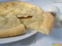 Focaccia con le cipolle - lievito madre