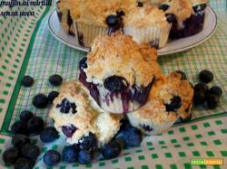 Muffin ai mirtilli senza uova