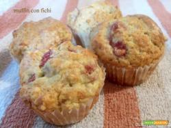 Muffin con fichi