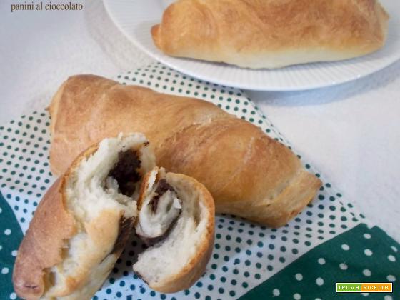 Panini al cioccolato - lievito madre