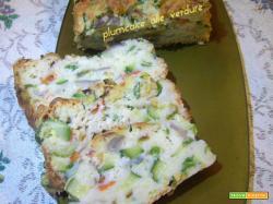 Plumcake alle verdure
