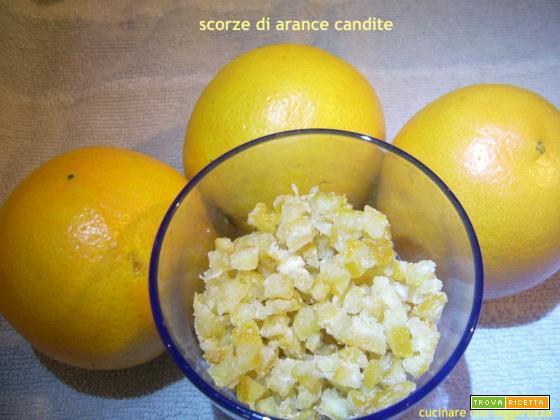 Scorze di arance candite