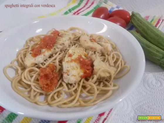 Spaghetti integrali con verdesca