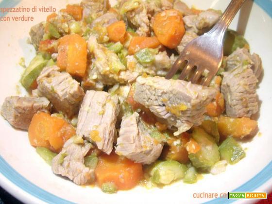 Spezzatino di vitello con verdure