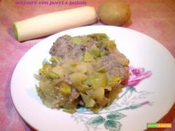 Svizzere con porri e patate