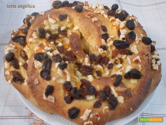 Torta angelica - lievito madre
