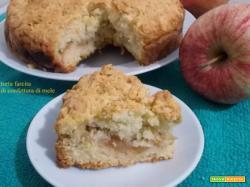 Torta farcita di confettura di mele