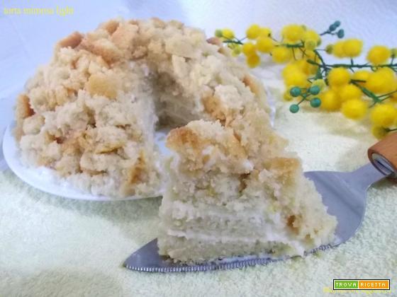 Torta mimosa light