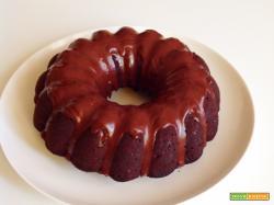 Bundt cake noci pere e cioccolato