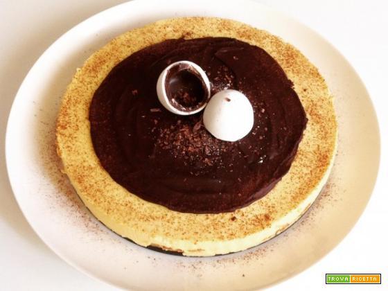 Torta bavarese allo zabaione