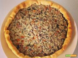 Torta salata peperoni, melanzane e carote | La cucina di Marta