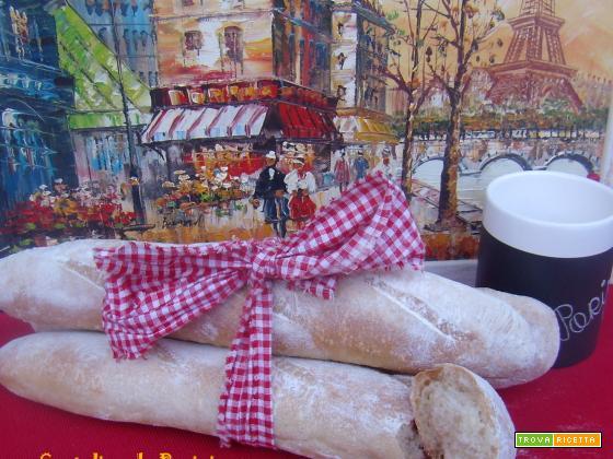 Cartoline da Parigi...la baguette a tinte noir