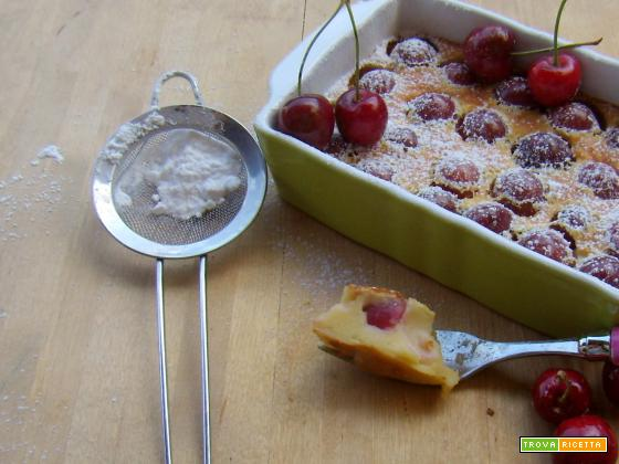 Clafoutis di ciliegie