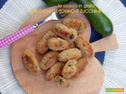 Crocchette tonno e zucchine