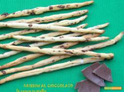 Grissini al cioccolato