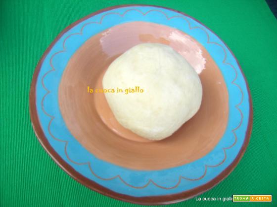 Ricetta base della pasta brisée