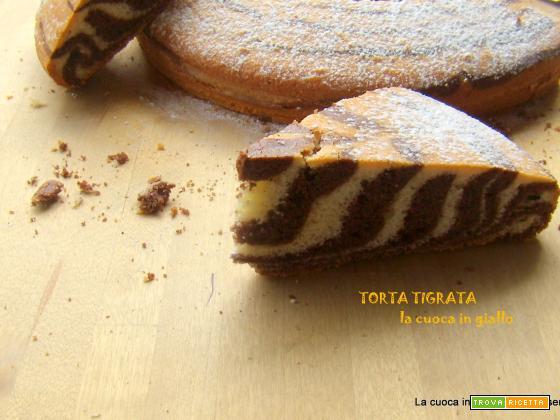 Torta tigrata