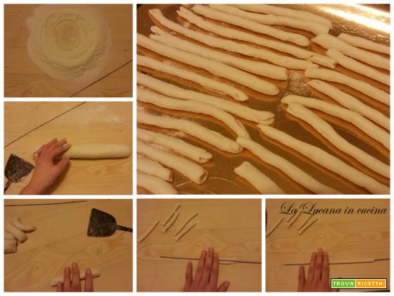 Pasta fatta in casa: i fusilli lucani