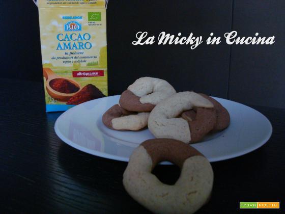 Biscotti tipo abbracci - versione anche senza glutine