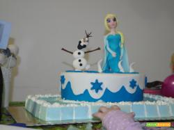 Buffet di compleanno a tema Frozen