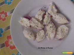 Cipolle ripiene di formaggio dukan