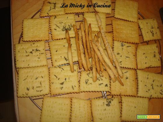 Crackers con esubero di lievito madre - versione con meno olio