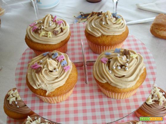 Crema al caffè e mascarpone (frosting per cupcakes)