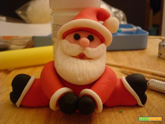 Pandoro di Natale con pasta di zucchero - Tutorial