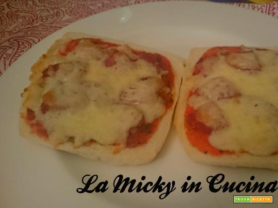 Pizza con pancarré ricetta salvacena