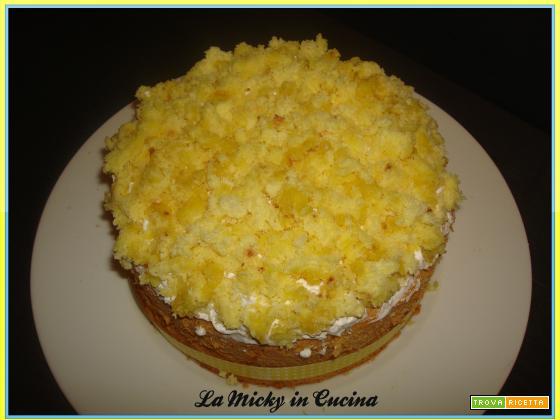Torta mimosa senza glutine o classica con ananas