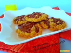 Biscotti Cookie, con impasto sbriciolata