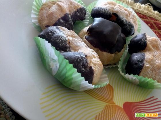 Brignè cioccolato crema panna zucchero