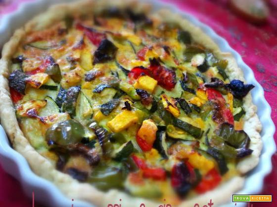 Brise di verdura peperone, zucca, zucchina