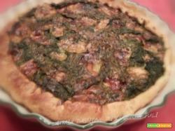 Brisee di spinaci, 4 stagioni mozzarella...