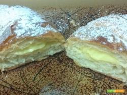Croissant pasta sfoglia burro farina marmellata