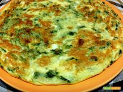 Frittata con prezzemolo 5 uova parmiggiano