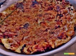 Frittata di pasta fritta anelletti siciliani, pasta a forno.