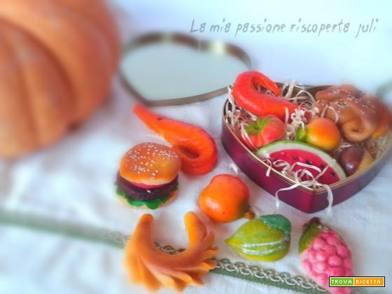 Frutta martorana, pasta reale