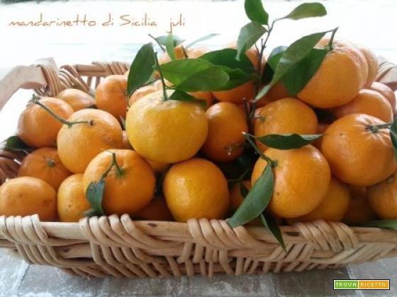 Mandarinetto di sicilia alcool