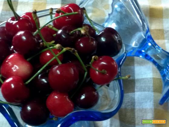 Marmellata di ciliegie ricetta