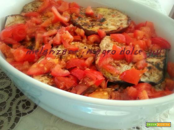 Melanzane in agrodolce con pomodorino