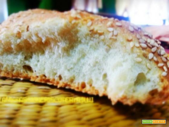 Pane siciliano al sesamo