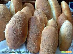 Panini Siciliani con sesamo, farina