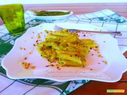 Pasta con pesto di fagiolina