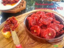 Pate di pomodori secchi da spalmare sulle bruschette.