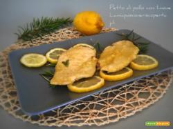 Petto di pollo con limone, limone di sicilia carne bianca petto di poll