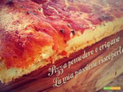 Pizza con pomodoro e origano, LIEVITO MADRE