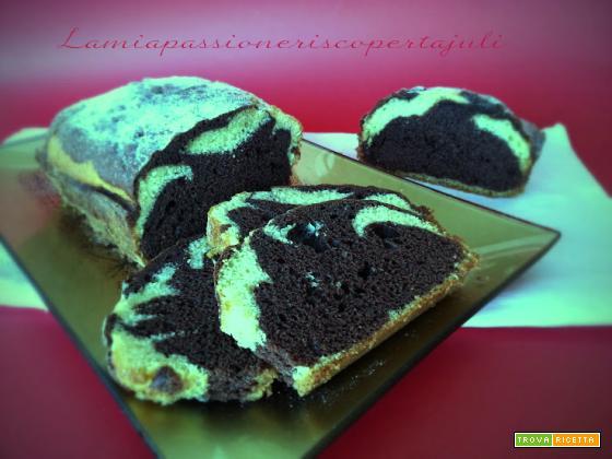 Plum cake marmorizzata
