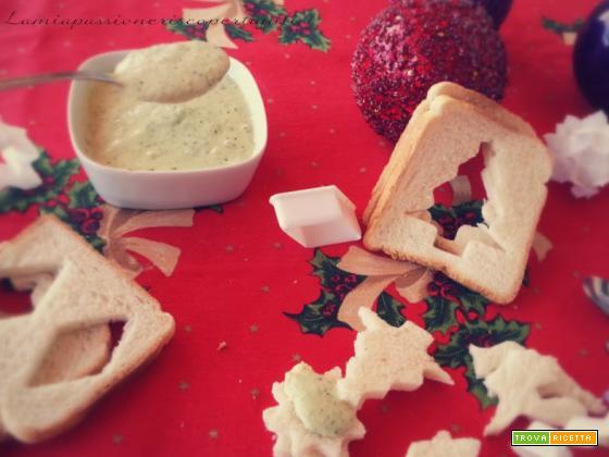 Salsa per antipasti, maionese insalata verde